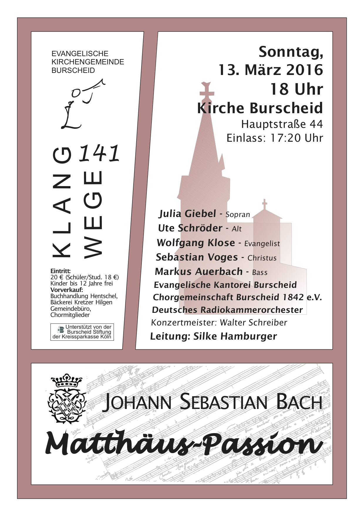 KW141 MP Plakat