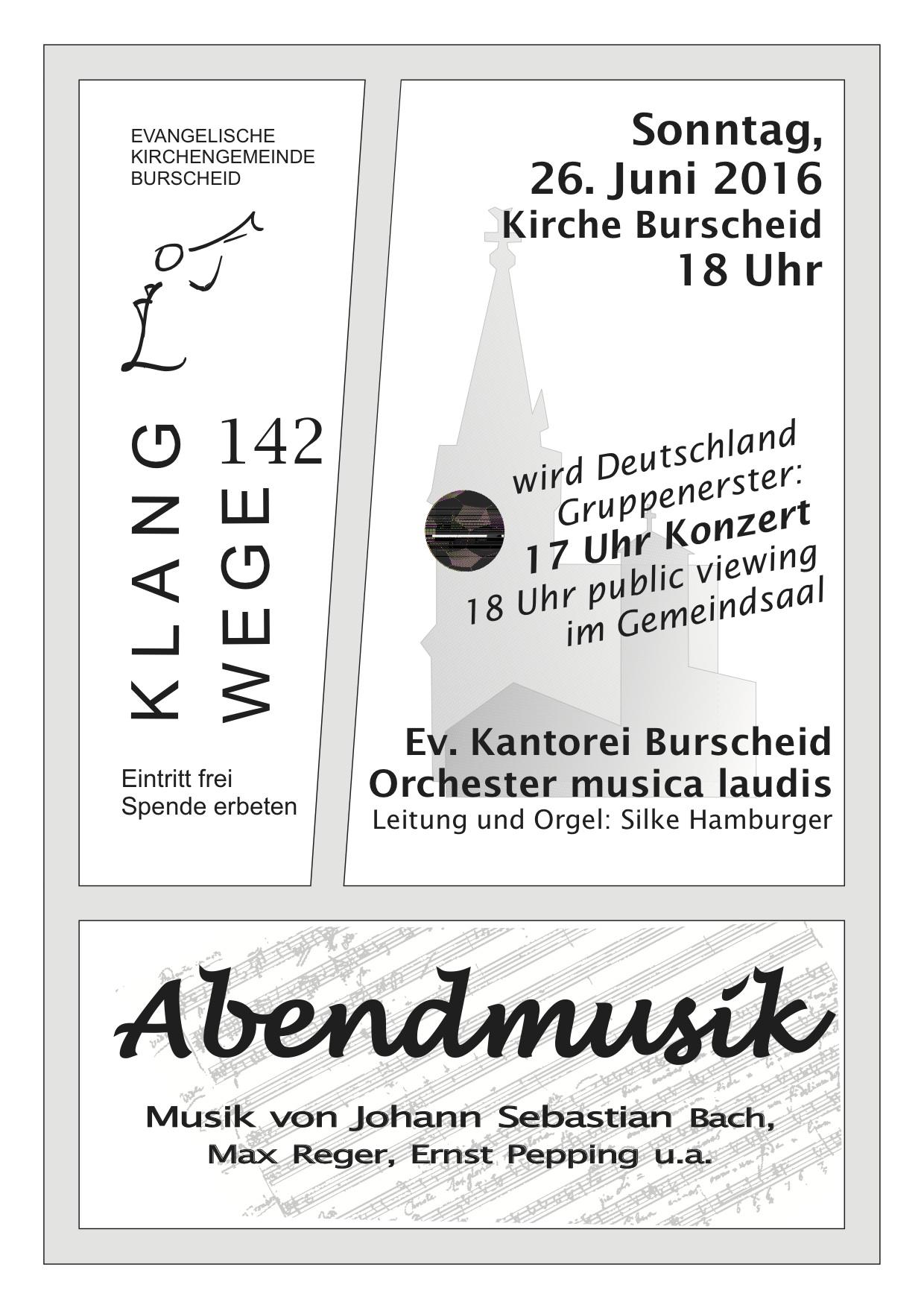 KW142 AMu Plakat