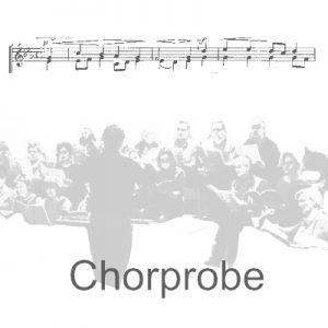 Chorprobe @ Gemeindehaus