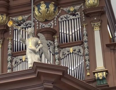 Orgelspiel KMD Silke Hamburger